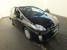 2010 Toyota Prius ZVW30R I-Tech Hybrid Ebony Continuous Variable Hatchback Clemton Park Canterbury Area Preview