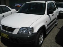 1998 Honda CR-V (4x4) White 5 Speed Manual 4x4 Wagon Tuncurry Great Lakes Area Preview