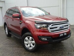 2017 Ford Everest UA Ambiente RWD Red 6 Speed Sports Automatic Wagon Bundoora Banyule Area Preview