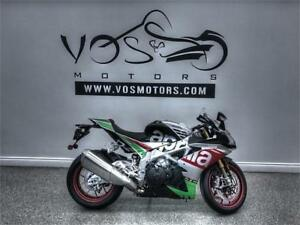 2017 Aprilia RSV4 RF- Stock#V2758NP- **Free Delivery in the GTA
