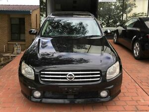 2003 Nissan Stagea TURBO AWD 250T-RS-FOUR-V Black 5 Speed Tiptronic Wagon Taren Point Sutherland Area Preview