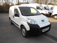 Peugeot Bipper 1.3 HDI 75BHP S VAN DIESEL MANUAL WHITE (2012)
