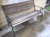 Garden Bench Good condition but a little rickety £45 ono