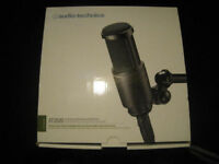 Audio-Technica AT2020 Cardioid Condenser Microphone RRP £120 - XLR VERSION - NOT ROLAND KORG MACKIE