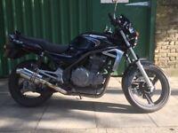 Black Kawasaki ER5 C5P 500cc 2006