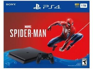 Selling mint new PS4 Spider-Man edition 1 Tb