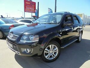 2011 Ford Territory SY Mkii TS Limited Edition Black 4 Speed Automatic Wagon Holroyd Parramatta Area Preview
