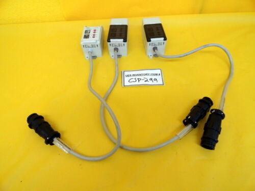 SUNX Sensors LA-AI Beam Sensor Amplifier Lot of 3 Used Working