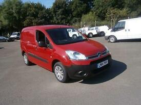 Citroen Berlingo 1.6 Hdi 850Kg Enterprise 90Ps DIESEL MANUAL RED (2014)