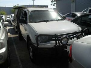 2011 Mitsubishi Triton MN MY11 GLX (4x4) White 5 Speed Manual Club C/Chas Moorabbin Kingston Area Preview