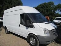 Ford Transit 2.4TDCi 115PS T350 HIGH ROOF 2008 REG NO VAT 112,000 MILES 6 SPEED