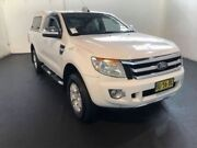 2012 Ford Ranger PX XLT SUPER CAB White Steptronic Freestyle Utility Clemton Park Canterbury Area Preview