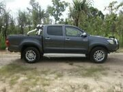 2014 Toyota Hilux KUN26R MY14 SR5 Double Cab Charcoal Grey 5 Speed Automatic Dual Cab Gray Palmerston Area Preview