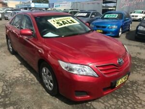 2010 Toyota Camry ACV40R 09 Upgrade Altise Red 5 Speed Automatic Sedan Lansvale Liverpool Area Preview