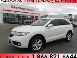 2014 Acura RDX BASE | LOW KM'S | 1 OWNER | LEATHER !!