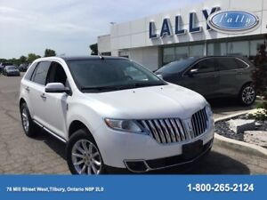 2014 Lincoln MKX Base, Leather, Nav, One Owner!!