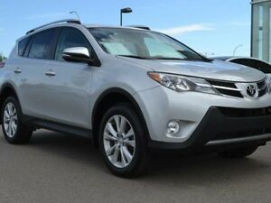 2013 Toyota Rav4 Limited AWD - LOCAL EDMONTON TRADE IN | NO ACCI