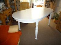 ITALIAN MADE Oak dining table