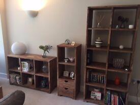 John Lewis Solid Wooden Freestanding Shelf Unit