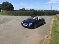 MGF Triptronic, Tahiti Blue. New Head gasket, great condition