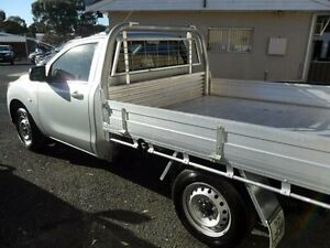 2015 Mazda BT-50 UP0YD1 XT Silver Manual Cab Chassis Mudgee Mudgee Area Preview