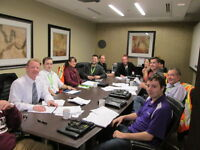 Boardroom that seats 10 people for rent with Regus!