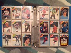 Lot of 43  1978-79 O-Pee-Chee hockey cards