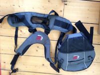 Bush baby front/back carrier for baby, £20