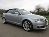 2010 (10) Audi A3 Cabriolet 1.6TD ( 104bhp ) S Line