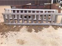SET OF 2 STEEL RAMPS FOR SALE--5' LONG--GENTLY USED