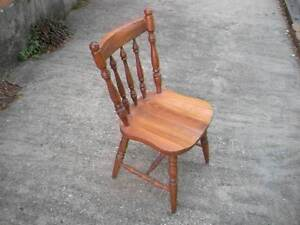 Wooden Cottage Style Chair $38 Albion Brisbane North East Preview