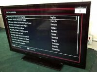 """32"""" LED tv with freeview and DVD player."""