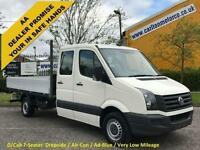 2010/ 60 Volkswagen Crafter Cr35 2.5TDI D/Cab 10.ft Dropside [Low Mileage] A/C