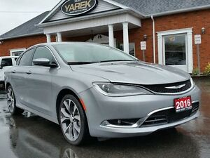 2016 Chrysler 200C C, Learther Heated Seats, Remote Start, NAV,