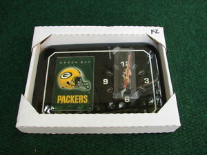 Green Bay Packers clock