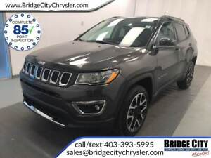 2018 Jeep Compass Limited 4x4- NAV, Pano Sunroof, Leather!