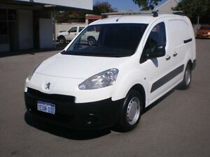 2013 Peugeot Partner B9P Update 1.6 HDI White 5 Speed Manual Van Victoria Park Victoria Park Area Preview