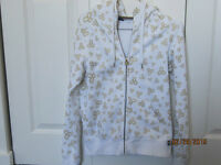 TNA Hoodie - White - great condition - Size Small