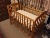 Absolute New Original Mothercare Cot With Mattress