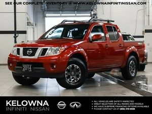 2014 Nissan Frontier Pro-4X CrewCab 4WD w/Leather Package