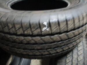 275/60R16 USED 2 GOODYEAR A/S TIRES