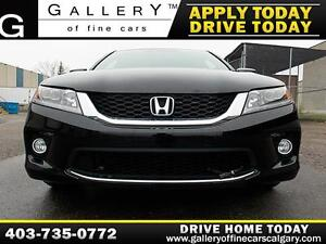 2014 Honda Accord Coupe V6 $179 bi-weekly APPLY NOW DRIVE NOW