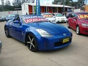 2004 Nissan 350Z Z33 Roadster Blue 6 Speed Manual Convertible Holroyd Parramatta Area Preview