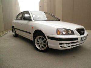 2004 Hyundai Elantra XD MY04 White 4 Speed Automatic Sedan Cheltenham Kingston Area Preview