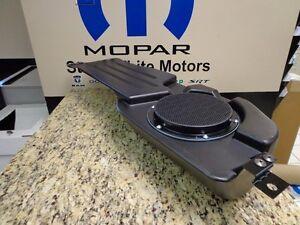 09-16 Dodge Ram 1500 2500 New Subwoofer Speaker w/ Housing Mopar Factory Oem