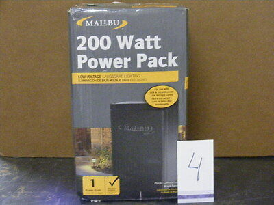 MALIBU 200 WATT DIGITAL POWER SUPPLY TRANSFORMER LANDSCAPE LIGHTING ML200TWM