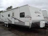 Just arrived - 2008 Jayco 31BHDS - with bunk house slide