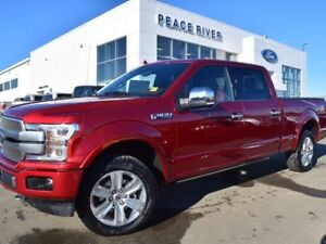 2018 Ford F-150 Platinum 4x4 SuperCrew Cab Styleside 6.5 ft. box
