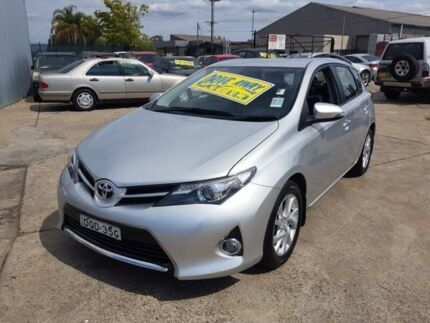 2015 Toyota Corolla ZRE182R Ascent Sport Silver 7 Speed CVT Auto 7 Speed Hatchback