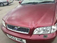 VOLVO S40 1.8 52 REG 4DR LEATHER ALLOYS 10 MONTHS MOT SERVICE HISTORY